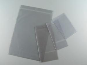 Buste portacartellino con perforazione, in PVC elettrosaldato