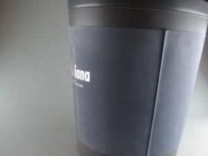 Copri cestino in materiale plastico floccato personalizzato