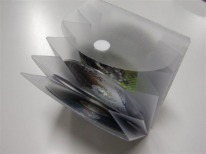 Folder porta cd in PVC elettrosaldato