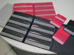 Porta frese per settore dentale in PVC elettrosaldato