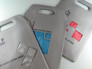 Borsa porta depliant personalizzata in PVC saldato ad alta frequenza