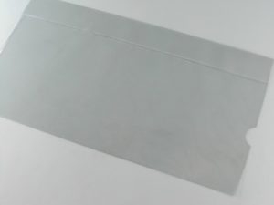 Busta per radiografie in PVC trasparente saldato in HF