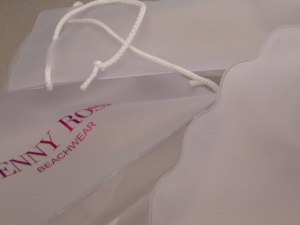 Busta in PVC per intimo e costumi, personalizzabile