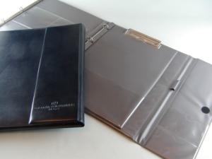 Cartella ad anelli con giancio in PVC cartonato personalizzato