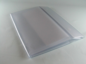 Cartellina soffiettata in PVC elettrosaldato