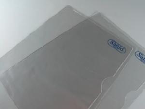 Cartellina a L in PVC personalizzabili