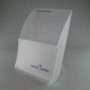 Porta depliant e pieghevoli in PPL fustellato personalizzabile