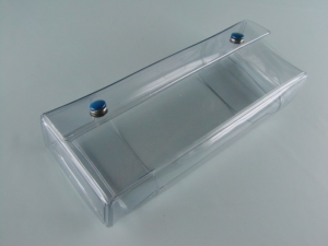 Contenitore portaoggetti da cintura in PVC elettrosaldato