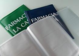 Porta documenti multitasche in PVC personalizzabile