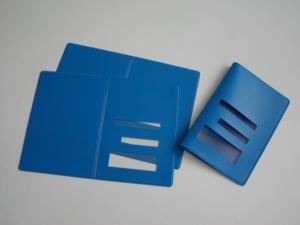 Porta documenti, carta d'identità, passaporto, patente in PVC saldato in HF