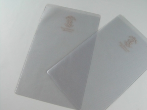 Busta porta libretto bancario e porta documenti in PVC elettrosaldato