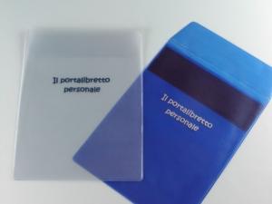 Busta in PVC elettrosaldato per libretto personale