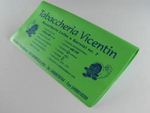 Porta ricevute lotto in PVC elettrosaldato personalizzabile