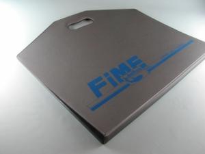 Portacampionario in PVC elettrosaldato con maniglie
