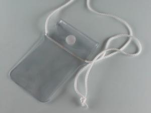 Busta portacellulare e documenti in PVC saldato ad alta frequenza