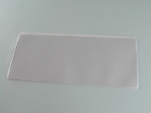 Porta etichetta in PVC saldato in HF per scaffalatura industriale