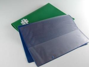 Porta ricette e cards in materiale plastico elettrosaldato pubblicizzabile