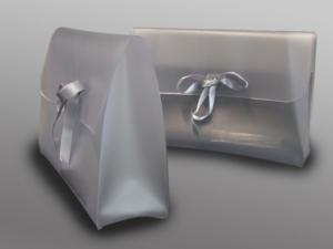 Pochette in PVC saldato ad alta frequenza per intimo e costumi