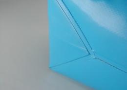 Rivestimento per vasche in poliestere spalmato PVC elettrosaldato